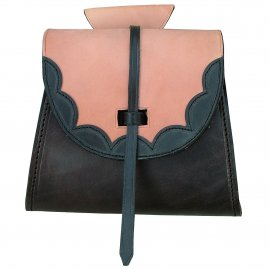 "Leather bag ""Germane"""