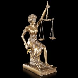 Resin Statue Lady Justice