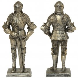 Knight with filigree armor, figure