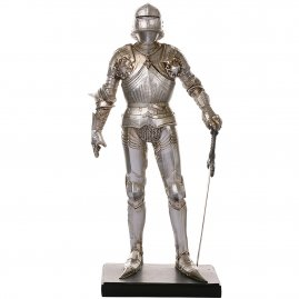 Figur Knight with sallet full suit armor