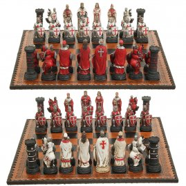 Chess Set Knights Tournament