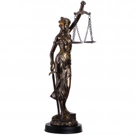 Goddess of justice Justitia Figure 37cm