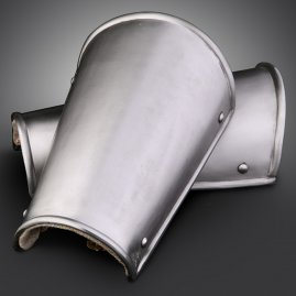 Steel forearm guards