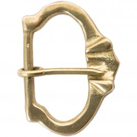 Notched lip Buckle – c1250-1400