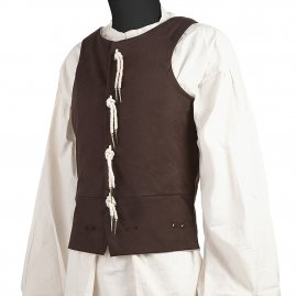 Arming doublet, sleeveless