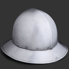 Kettle hat with Full Brim