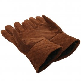 Suede armor gloves