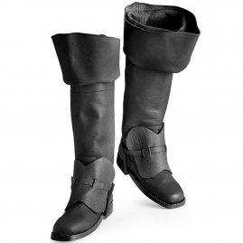 Musketeer boots black