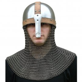 Early Viking Spangenhelm with optional aventail