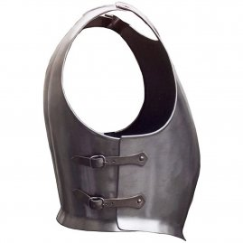 Medieval armor: breast and back plate