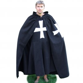 Surcoat with cape, Order of Saint John