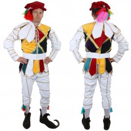 Fancy jester costume