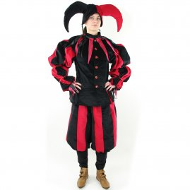 Medieval jester costume Andre