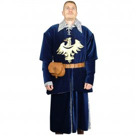 Surcoat with eagle application