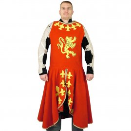 Surcoat with Lion and Fleur de Lis