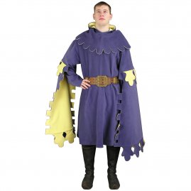 Girded surcoat, cape