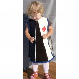 Children tabard blue-white