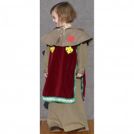 Children costume in Gothic style