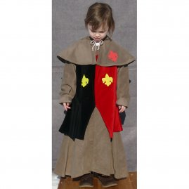 Children costume, Gothic style