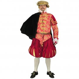 Renaissance men's costume in the style of Spanish fashion, 1550