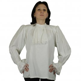 Baroque shirt with jabot Johann