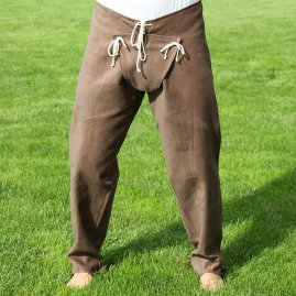 Medieval trousers with codpiece