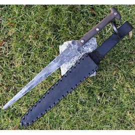 Gothic dagger Blaxton with patina finish
