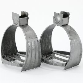 Dutch forged stirrups