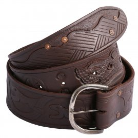 Medieval Leather Belt Robin Hood