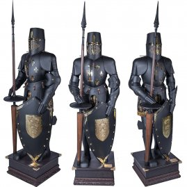 Black Tournament Armour, 16. cen.