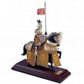 "Mounted English Knight ""King Richard the Lionheart"""