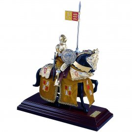 "Mounted Knight ""Charles V"", the King of Spain"
