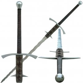 Gothic two-handed-sword Bajbars