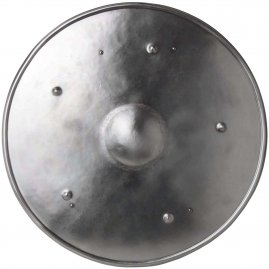 Iron round shield