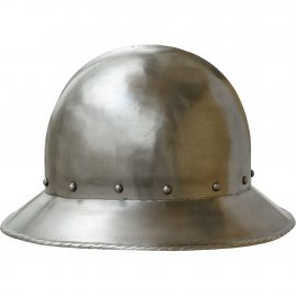 Kettle hat with short brim