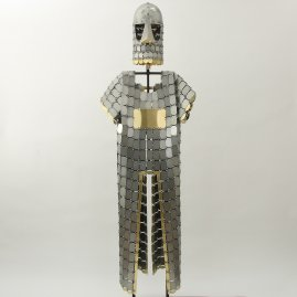 Scale armor, 12th - 13th cen.