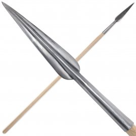 Forged spear point long