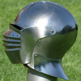 Bellows visored sallet, 15th / 16th century