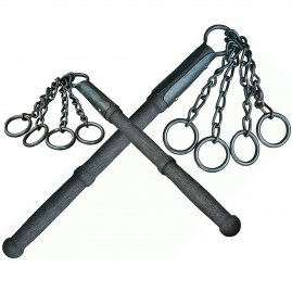 Flail with four rings