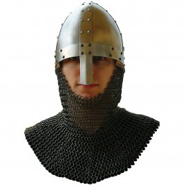 Oval Norman helmet