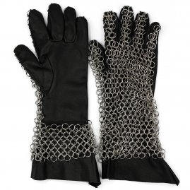 Chain Mail Gauntlets. 11-14th century