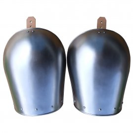 Plain pauldrons, 2pcs