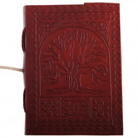 Leather notebook Tree of life