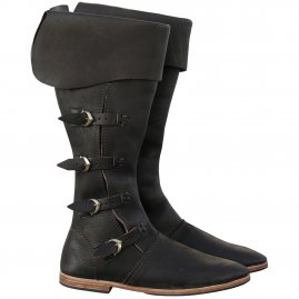 Middle ages high boots