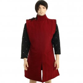Sleeveless gambeson and padded tunic