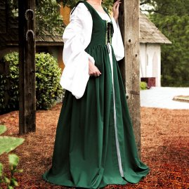 Maid Dress green