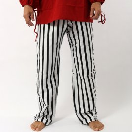 Pirate Pants black-white