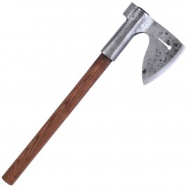 Archer axe with leather case