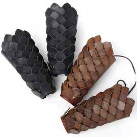Scaled arm bracers Dragon