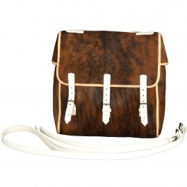 Kitbag from calfskin